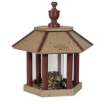 Amish Gazebo Bird Feeder