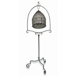 Antique Bird Cage with Stand