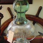 Antique Glass Bird Feeders