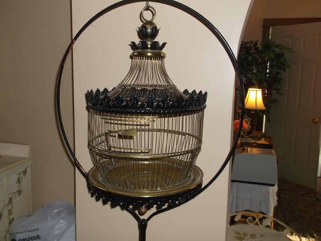 Antique Hendryx Bird Cage