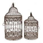 Antique Metal Bird Cages