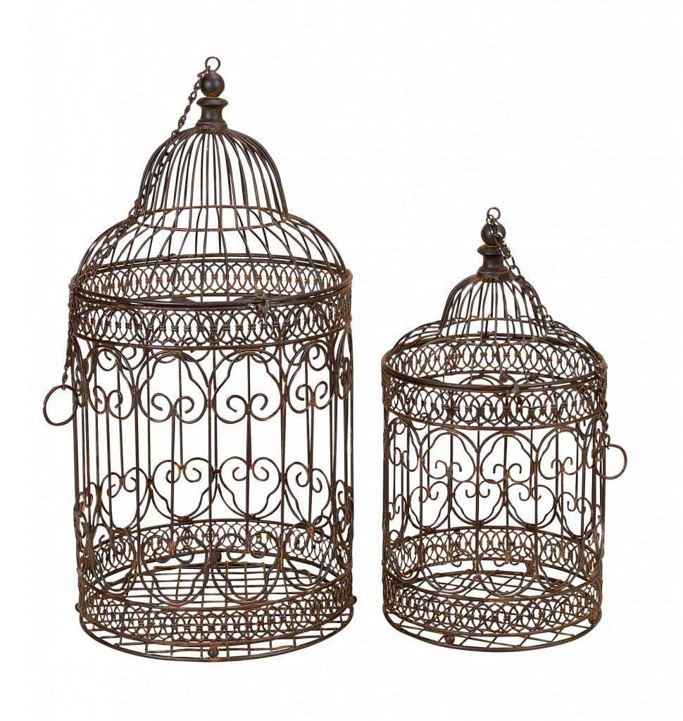 Antique Metal Bird Cages