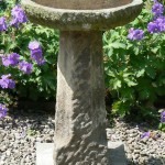 Antique Stone Bird Bath