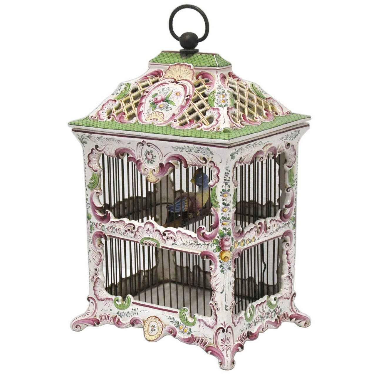 Antique Victorian Bird Cage