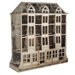 Antique Wood Bird Cage