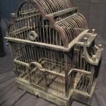 Antique Wooden Bird Cages