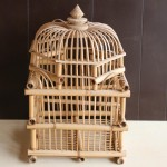 Asian Bamboo Bird Cage