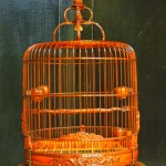 Bamboo Bird Cages Set