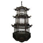Bamboo Pagoda Bird Cage