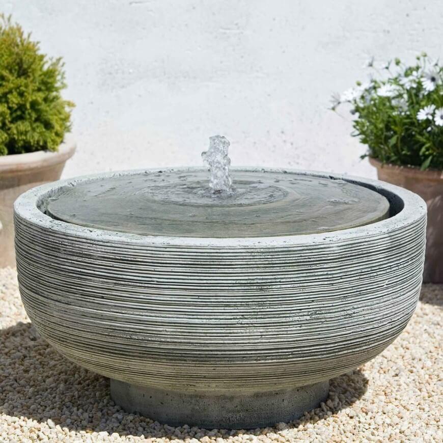 Bird Bath Bowl Concrete