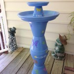 Bird Bath Dripper Homemade