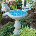 Bird Bath Fairy Gardens