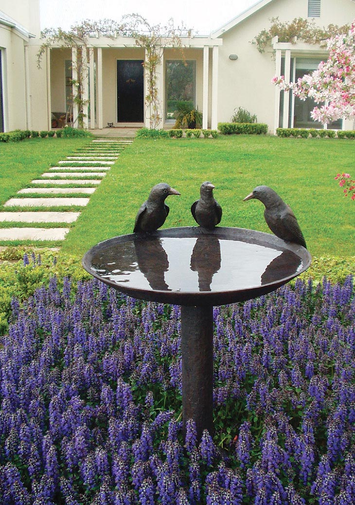 Bird Bath Garden Ideas