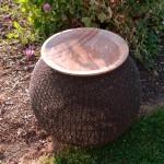Bird Bath Stone Bowl