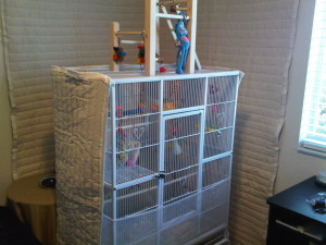 Bird Cage Cover Large