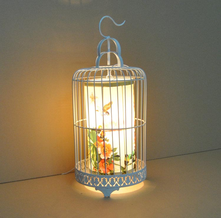 Bird Cage Floor Lamp