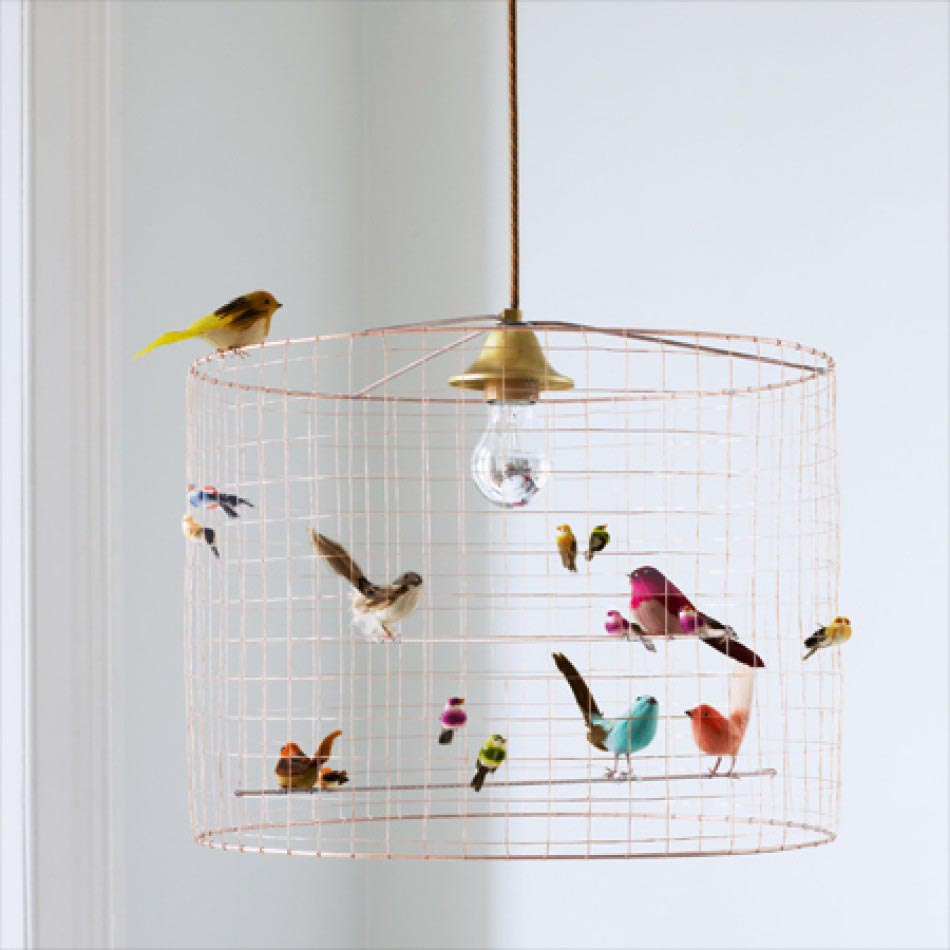 Bird Cage Lamp Shade