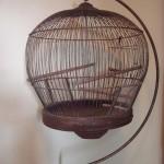 Bird Cage Stand Vintage