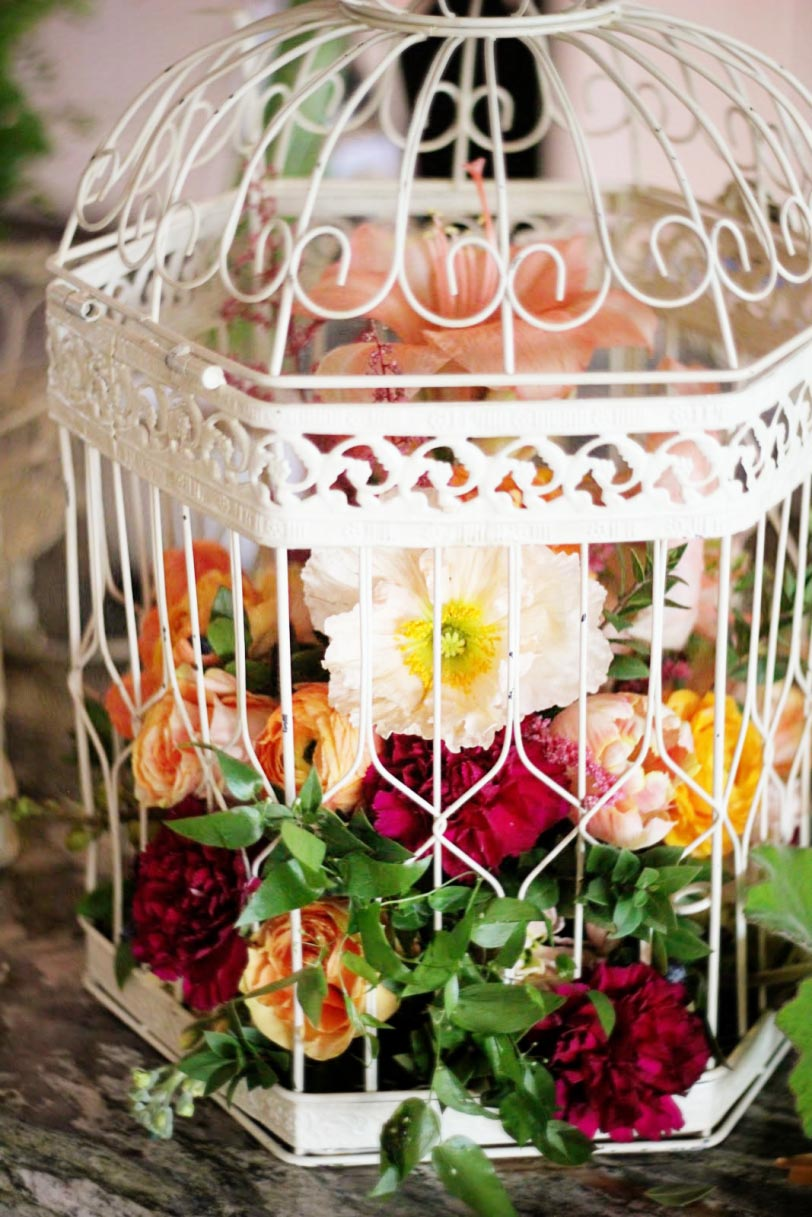 Bird Cage Wedding Decor