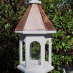 Bird Feeder Copper Roof