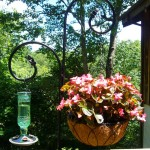 Bird Feeder Hanger for Deck Railing