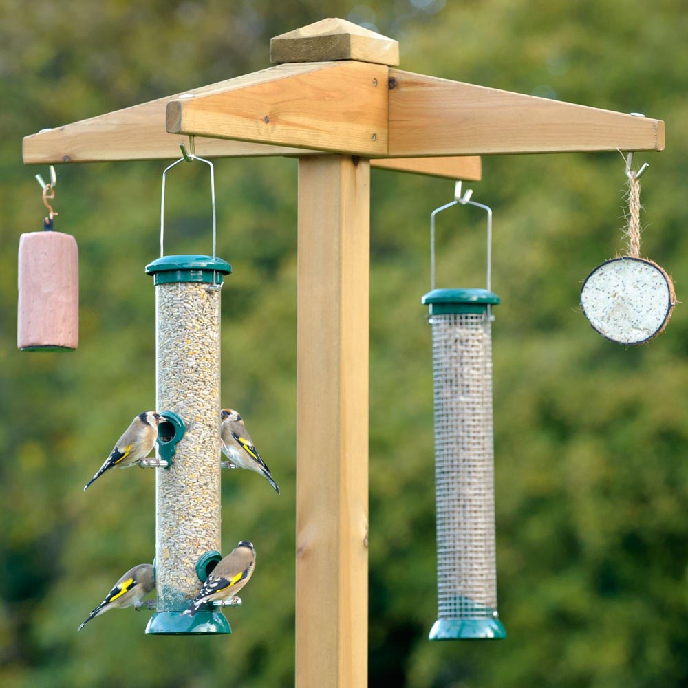 Bird Feeder Hanging Pole