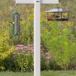 Bird Feeder Stand for Deck