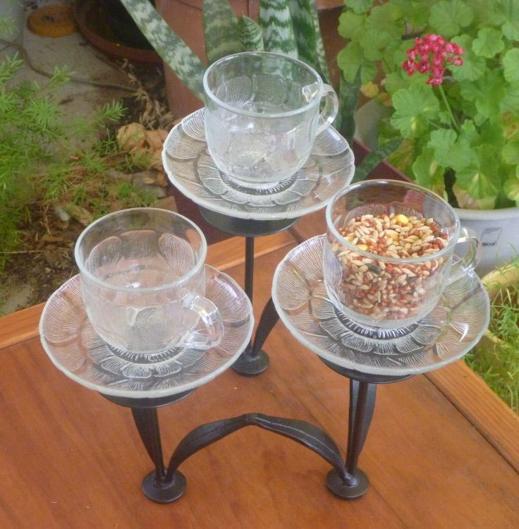 Bird Feeder with Stand