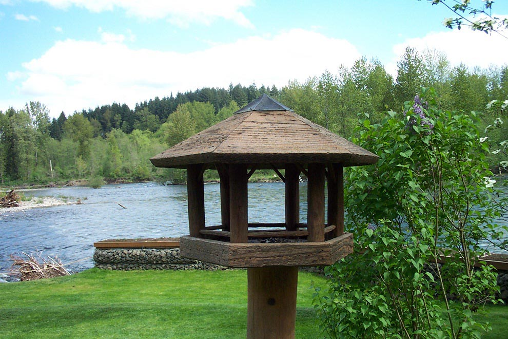 Bird Feeders Gazebo Style