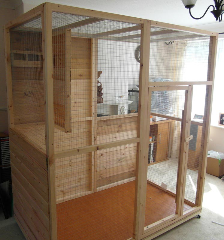 Build Indoor Bird Aviary