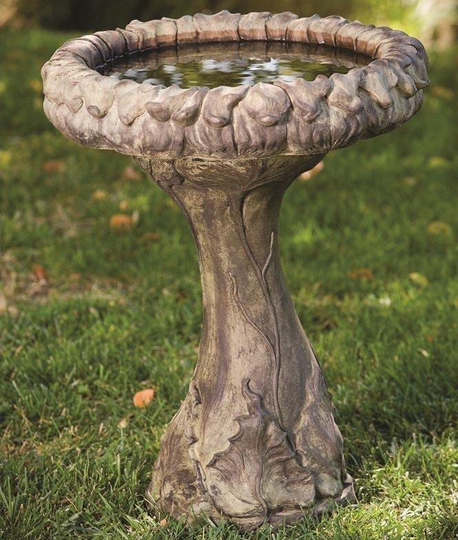 Cast Stone Bird Baths