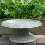 Cement Bird Bath Bowl