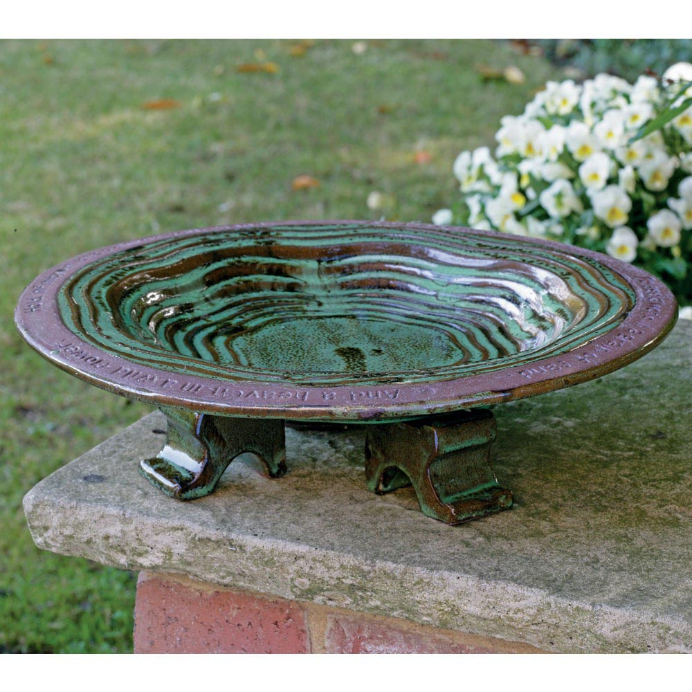 Ceramic Hanging Bird Bath