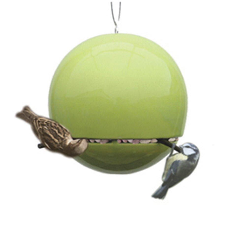 Ceramic Orb Bird Feeder