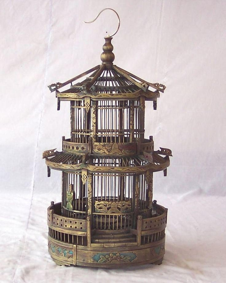 Chinese Bamboo Bird Cages