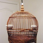 Chinese Decorative Bamboo Bird Cage
