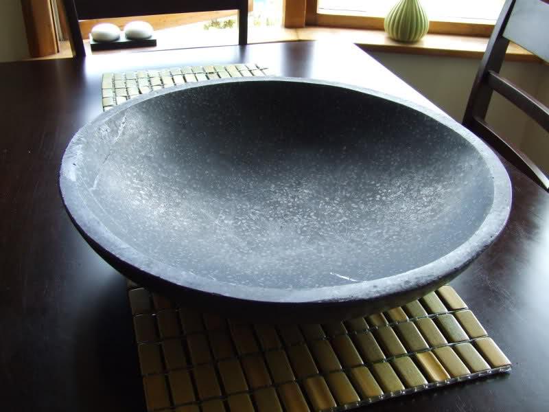 Concrete Bird Bath Bowl