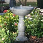 Concrete Bird Bath Fountains