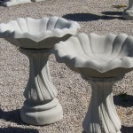 Concrete Bird Bath Top