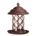 Copper Hanging Bird Feeder