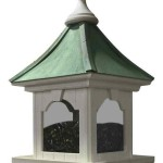 Copper Roof Bird Feeder