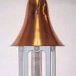 Copper Topped Bird Feeders