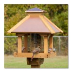 Coppertop Gazebo Bird Feeder