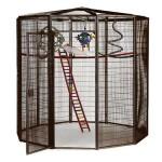 Corner Aviary Bird Cage