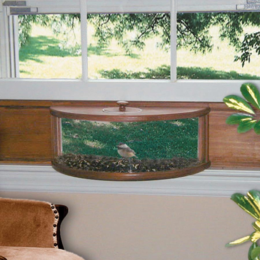Coveside Panoramic in House Window Bird Feeder