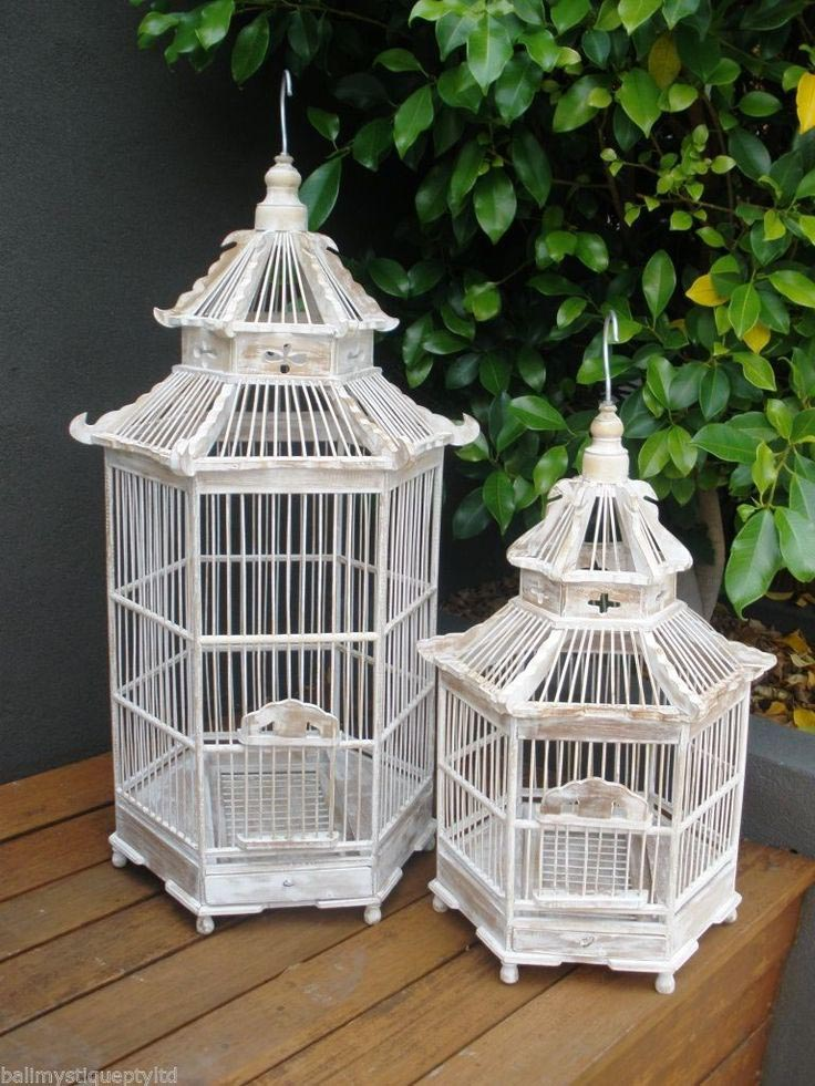 Decorative Bamboo Bird Cages