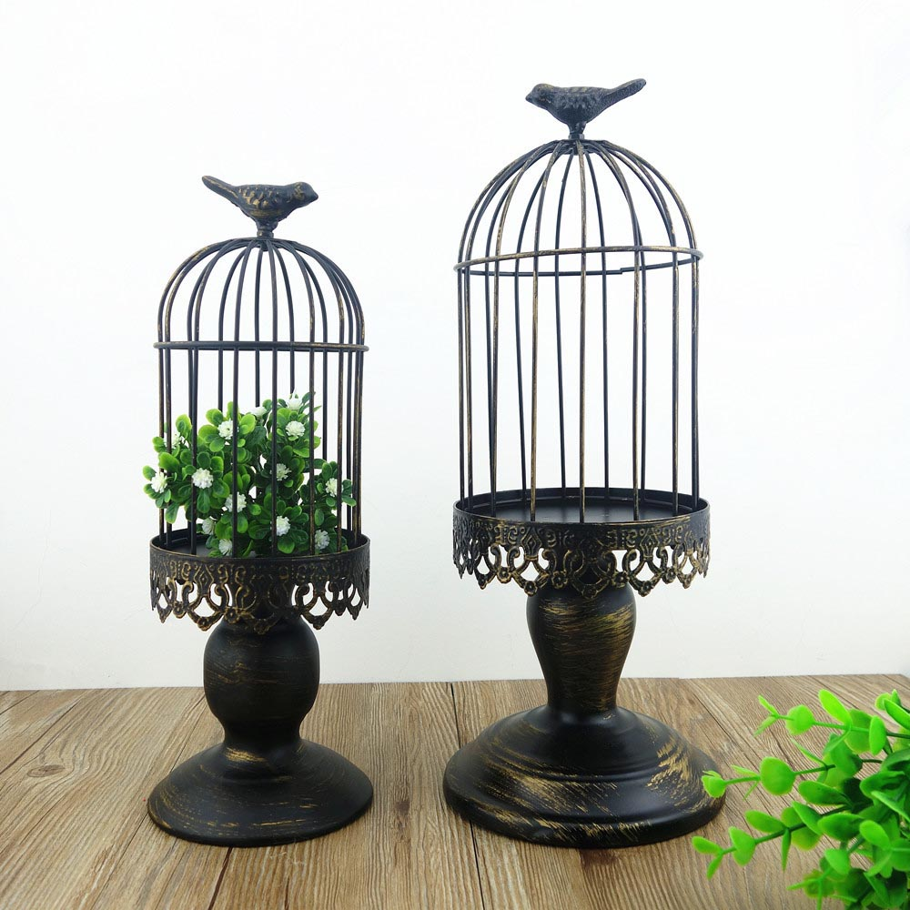 Decorative Bird Cage with Stand