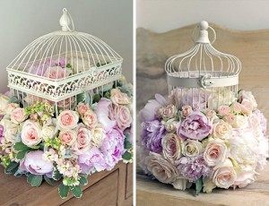 Decorative Bird Cages for Weddings