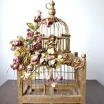 Decorative Wooden Bird Cage