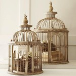 Decorative Wooden Bird Cages